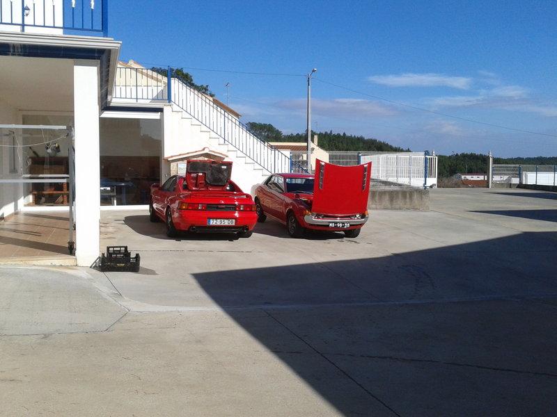 Toyota MR2 SW20 AND Toyota Celica TA22 20120913