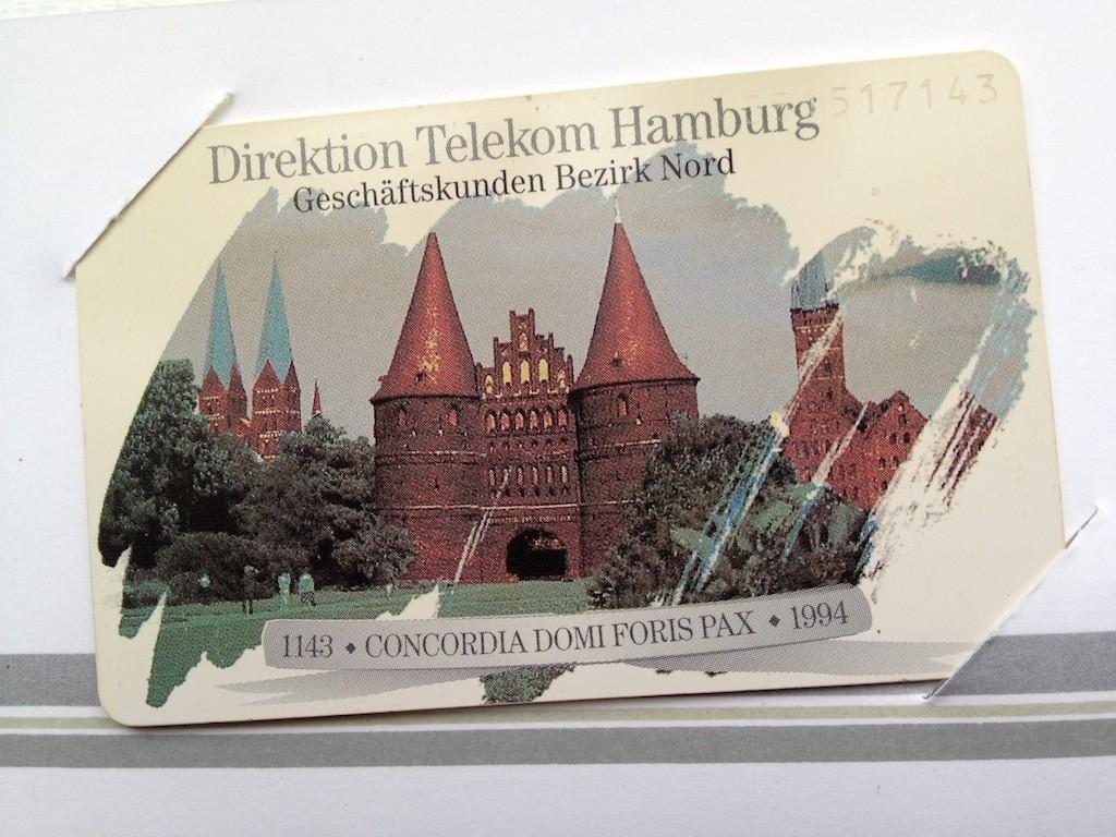 Briefmarken und Telefonkarten Telekom Direktion Kiel, kleine Auflage (?) 110