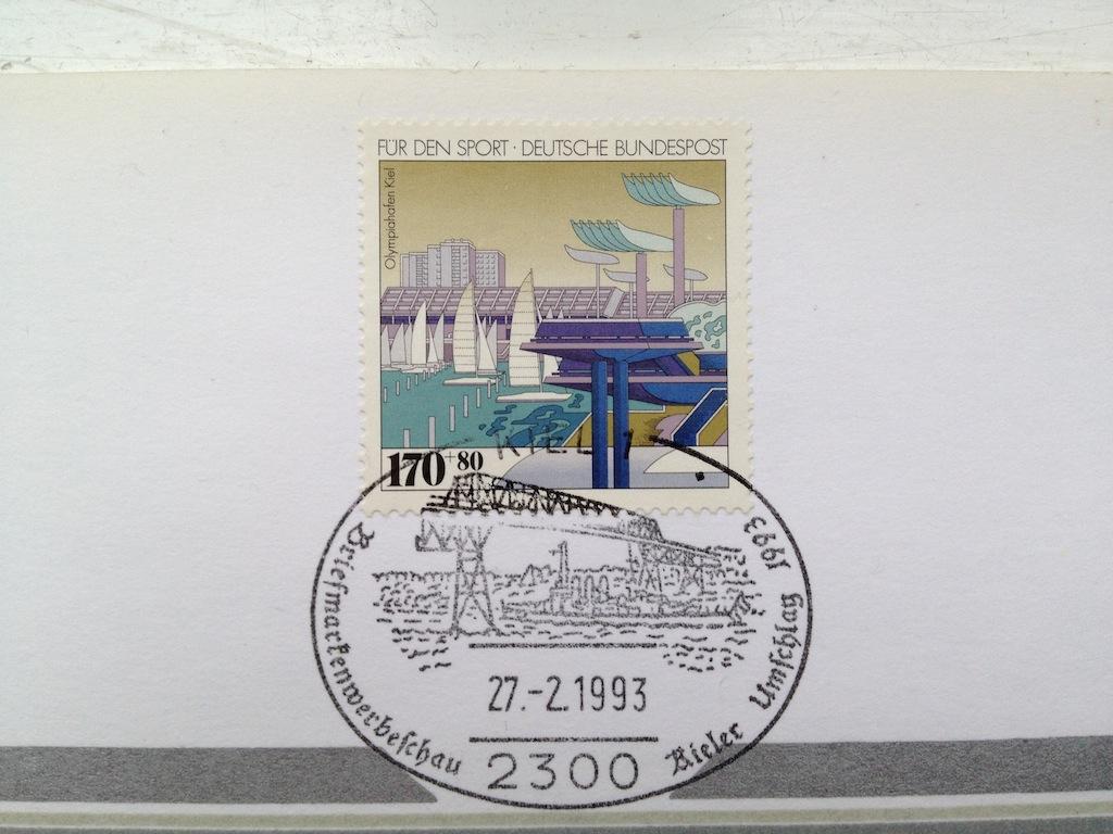 Briefmarken und Telefonkarten Telekom Direktion Kiel, kleine Auflage (?) 710