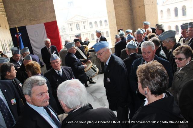 Levée de voile plaque CHERCHELL aux Invalides 20 octobre 2012 Img_5120