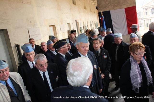 Levée de voile plaque CHERCHELL aux Invalides 20 octobre 2012 Img_5121