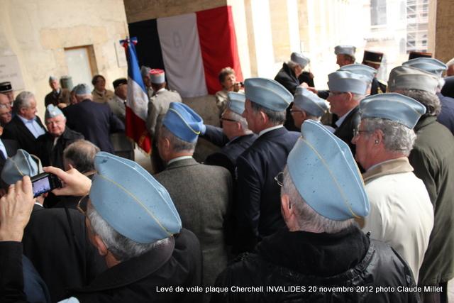 Levée de voile plaque CHERCHELL aux Invalides 20 octobre 2012 Img_5123