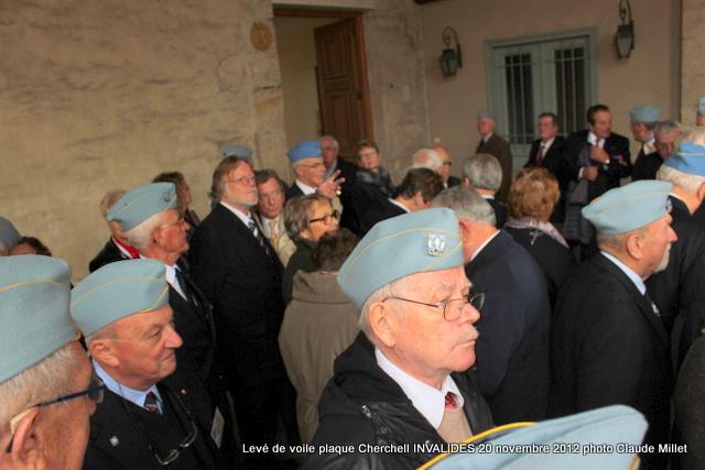 Levée de voile plaque CHERCHELL aux Invalides 20 octobre 2012 Img_5126