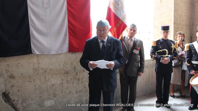 Levée de voile plaque CHERCHELL aux Invalides 20 octobre 2012 Img_5134