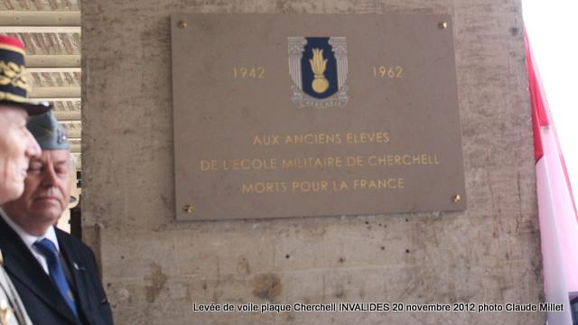 Levée de voile plaque CHERCHELL aux Invalides 20 octobre 2012 Img_5135