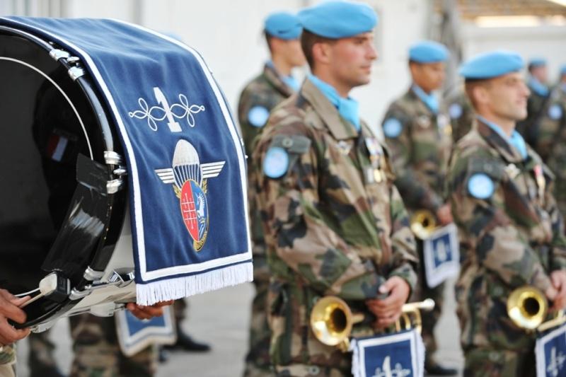 Le 1er RHP de Tarbes célèbre la Saint Michel au Liban St_mic10