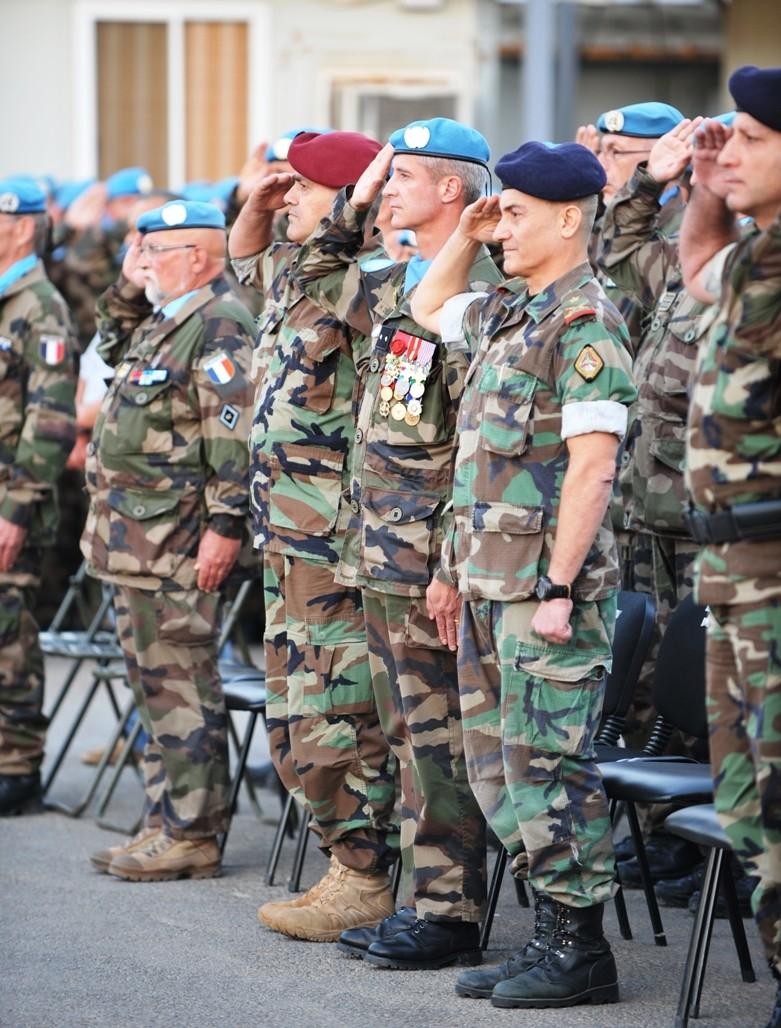 Le 1er RHP de Tarbes célèbre la Saint Michel au Liban St_mic13