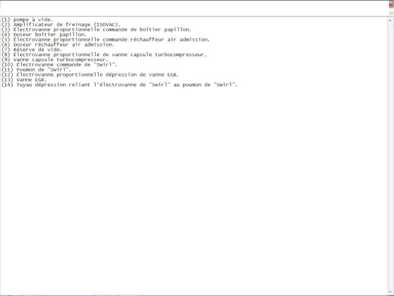 trou à l'accélération C8 2.2 HDI Legend11