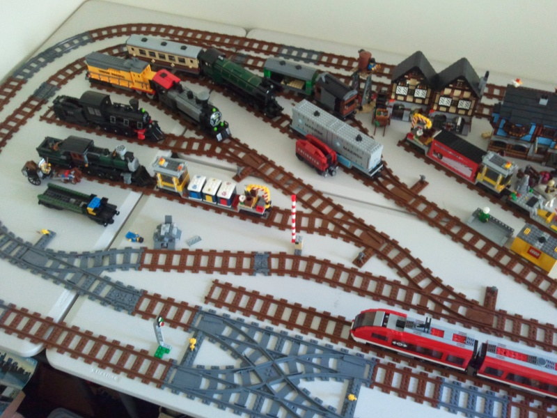 Share your Lego train layout Photo110