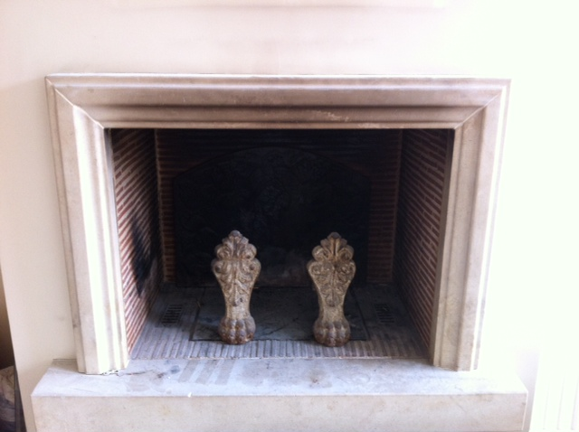 Mur de cheminée en béton ciré ou plaquette de briques Photo_11