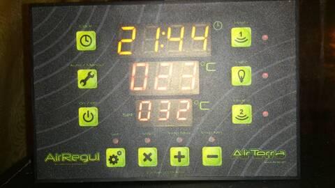 réglage thermostat Airterra Airregul   Dsc_0312