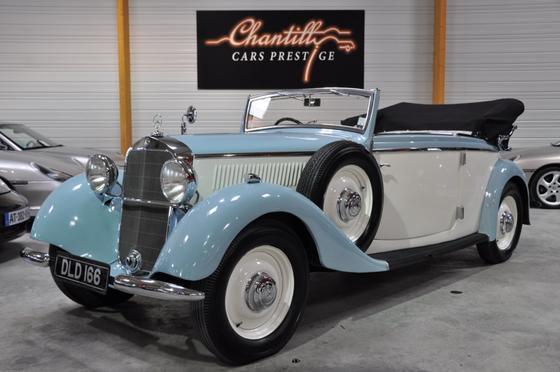 Les Mercedes des années 30/40 - Page 3 Merced11