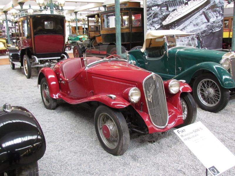 """SIMCA-FIAT, 6cv """"balilla"""", 5 """"topolino"""", 8 """"1100"""" les franco-italiennes - Page 2 Mulhou18"""