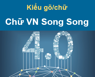Chữ VN Song Song 4.0 - Chuw VN Sogp sogp 4.0