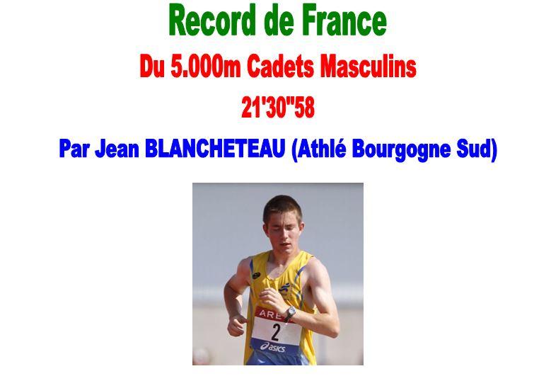 Record de France Cadets Fiche Technique   1_rfc_11