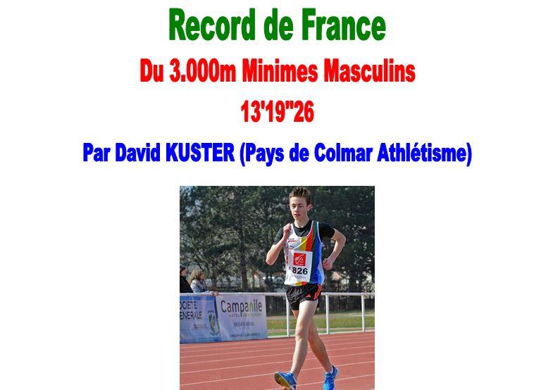 Record de France Minimes Fiche Technique 1_rfm_11