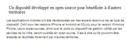 Signalement des problèmes dans le quartier - Application So Net Dansma11