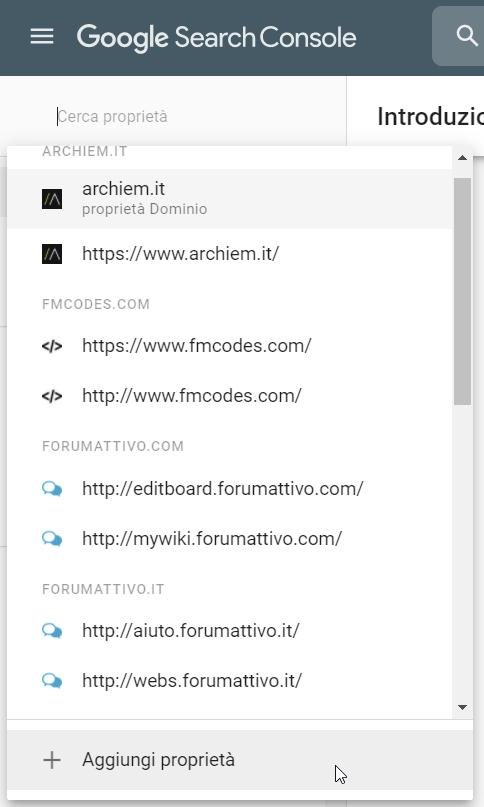 Registrare il tuo forum alla Google Search Console (2021) 2021-022