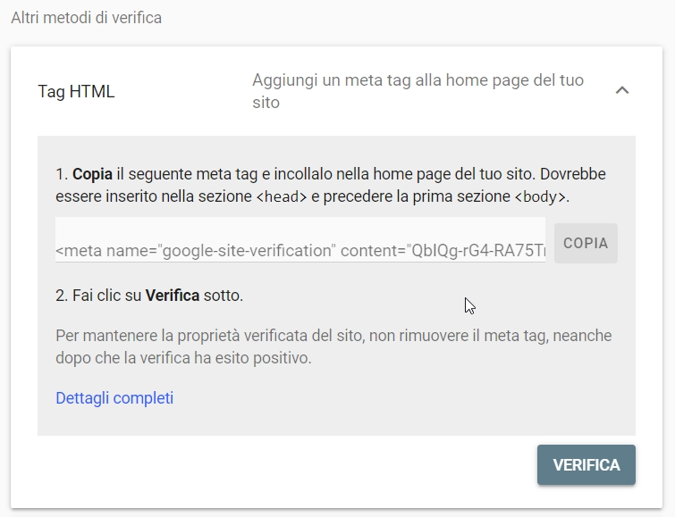 Registrare il tuo forum alla Google Search Console (2021) 2021-024