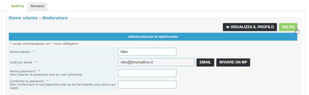 Modificare l'username di un utente 2021-058