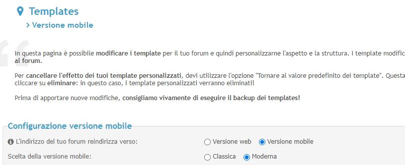 """Versione mobile poco """"friendly"""" e caricamento immagini scomodo: cè soluzione? 2021-089"""