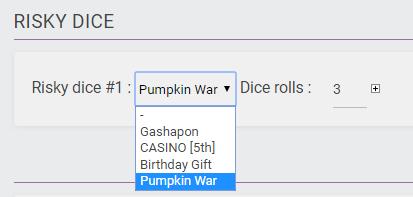 Event : Pumpkin War Riskyd13