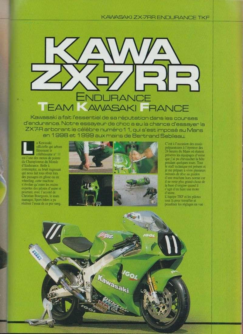SPORT BIKES N°1 : essai de la ZX-7RR TKF version 2000 210