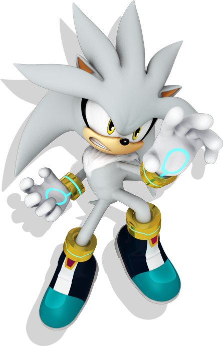 Silver the Hedgehog Newcomer. Silver10