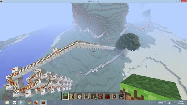Minecraft Roller coaster Screen10