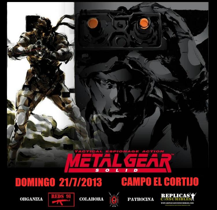 """""""METAL GEAR SOLID"""" DOMINGO 21/7/2013  (MAÑANA) CAMPO EL CORTIJO Dibujo13"""