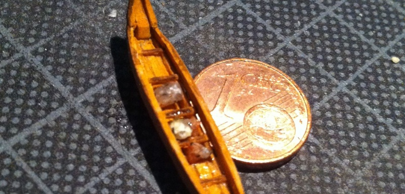 Wikingerboot (Spielzeug) für Skuldelev 3 Maßstab 1:20:20 = 1:400 Img_3019