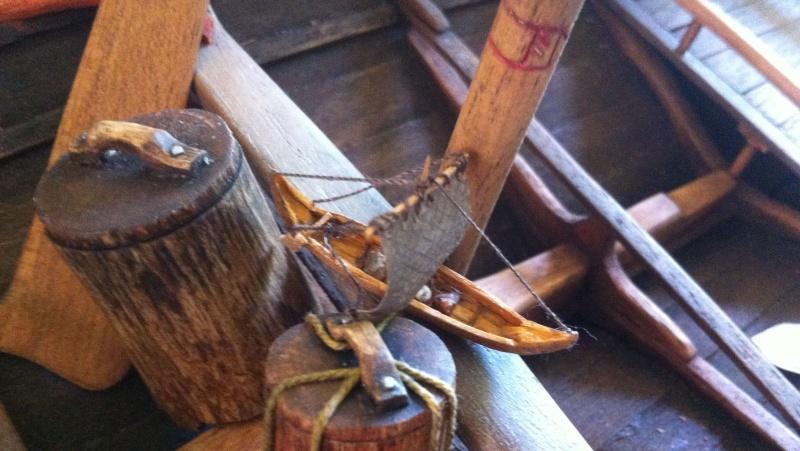 Wikingerboot (Spielzeug) für Skuldelev 3 Maßstab 1:20:20 = 1:400 Img_3021