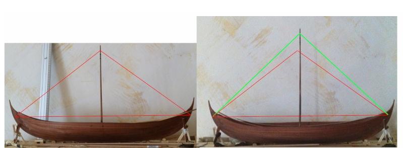 Wikingerschiff Skuldelev 3 / Teil I - Seite 6 Mastha11