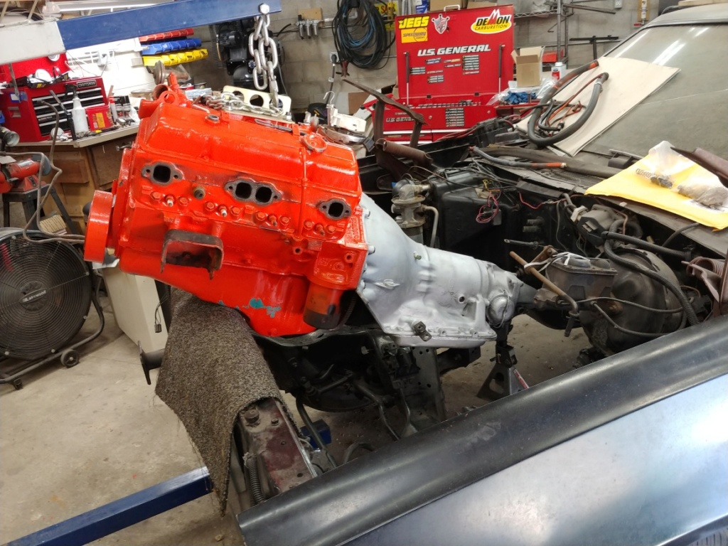 1977 El Camino SS Build Pics 20190610