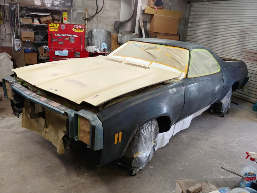 1977 El Camino SS Build Pics 20190710