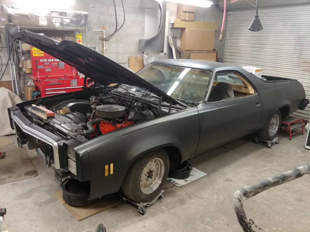 1977 El Camino SS Build Pics 20190811
