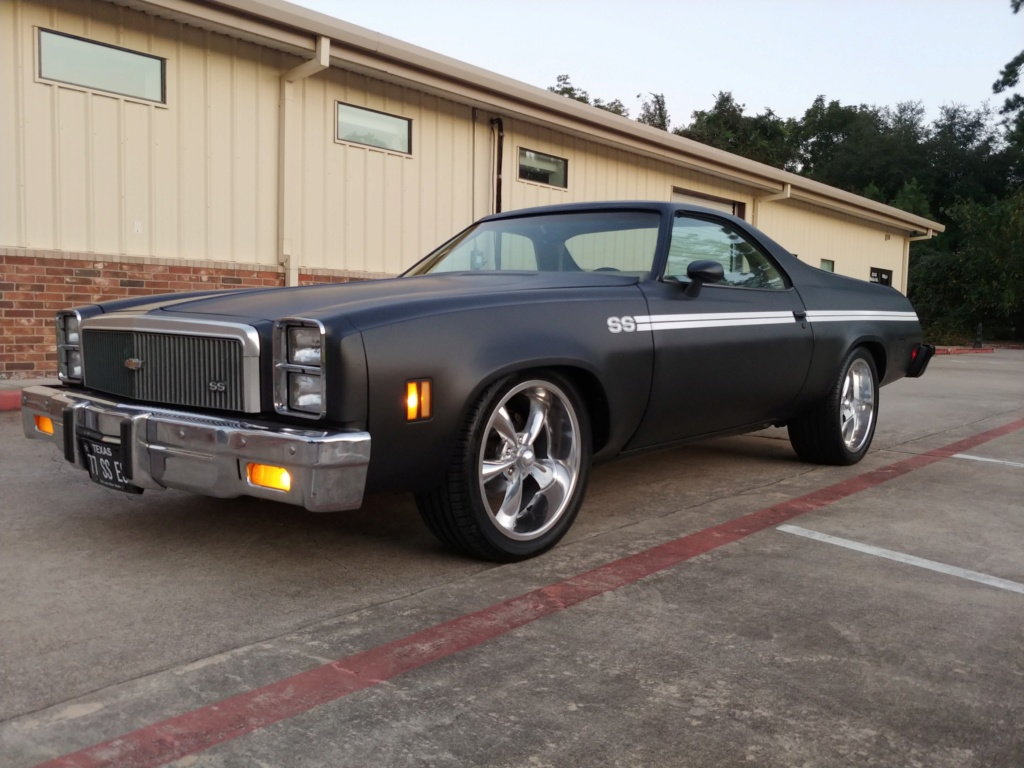 1977 El Camino SS Build Pics 20190925