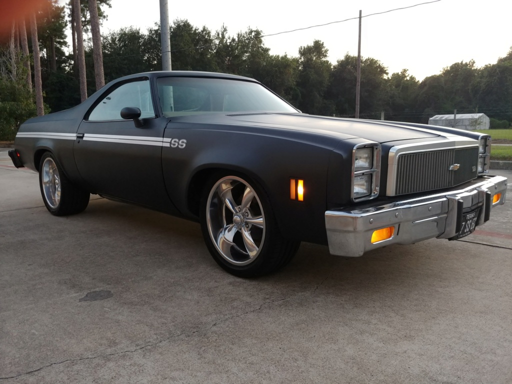 1977 El Camino SS Build Pics 20190926