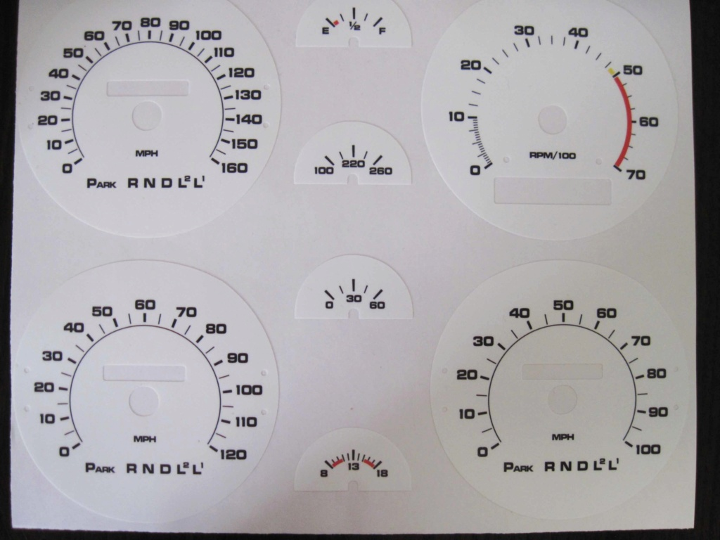 For Sale - Tach Gauge Cluster 75-77_11
