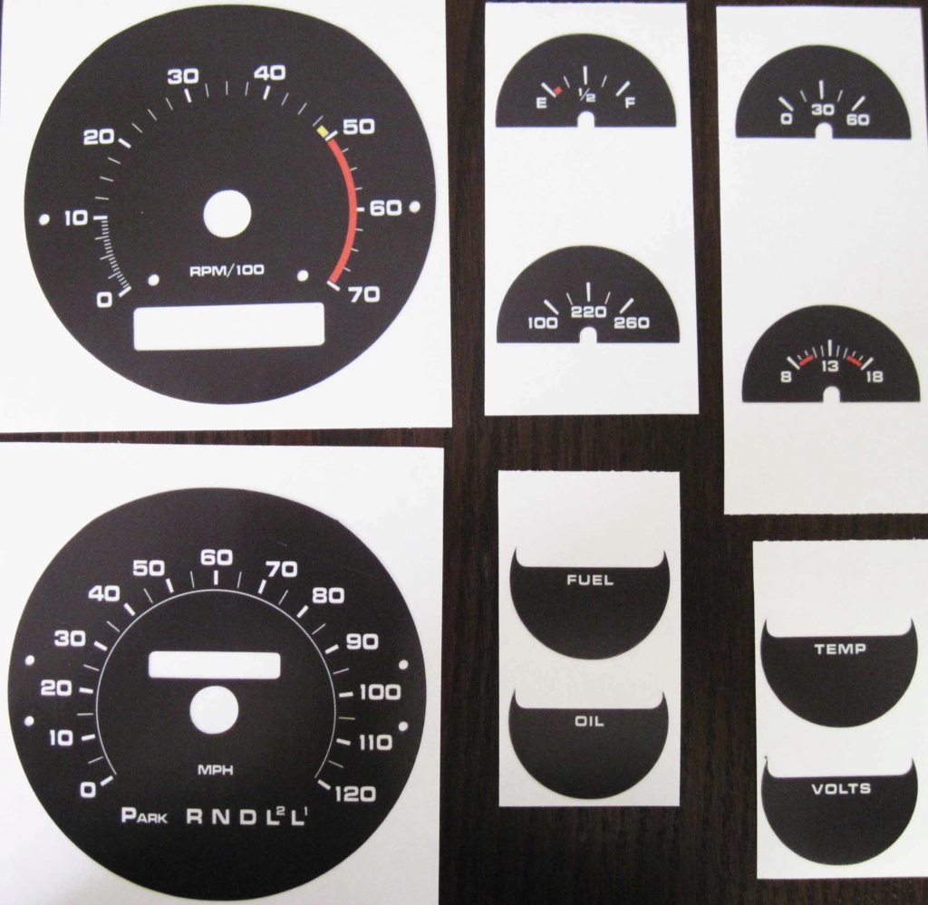 For Sale - Tach Gauge Cluster 75-77_12
