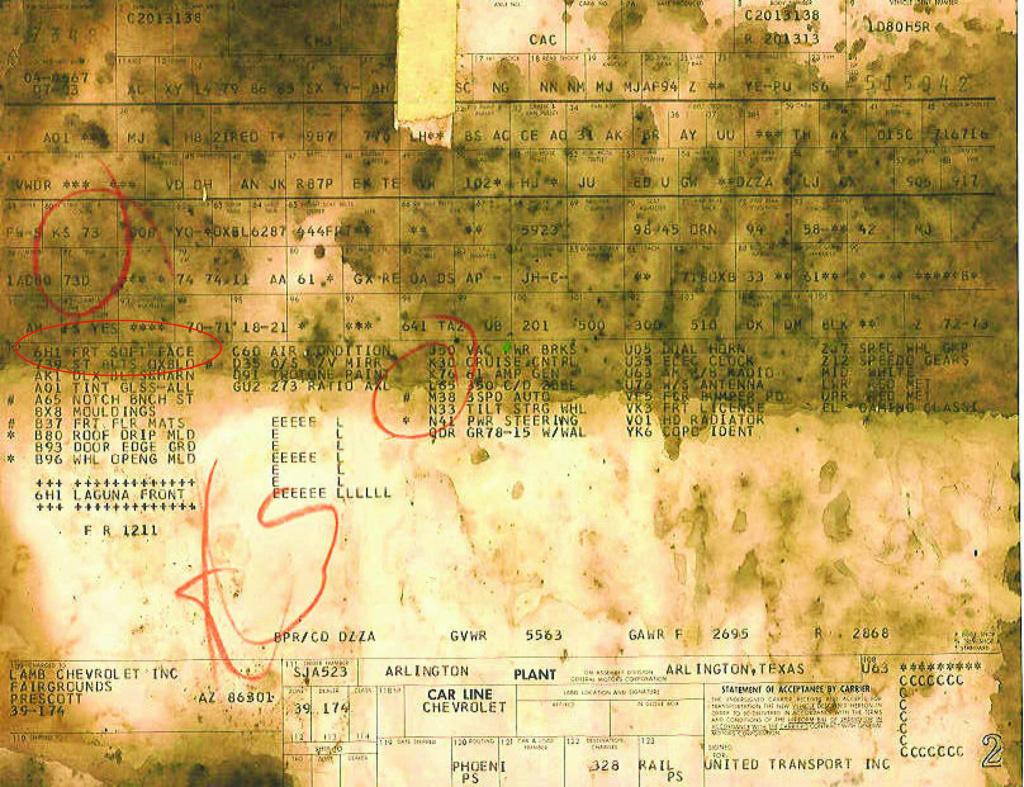 1974 El Camino S3 Fremont plant Ec_lag10