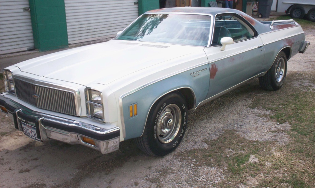 My Old 1977 El Camino - Re-surfaced! Front_11