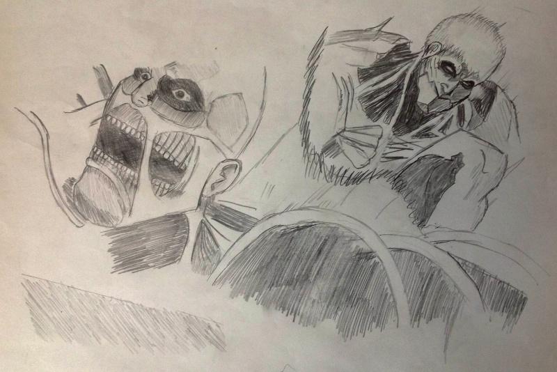 mes dessins Titans10