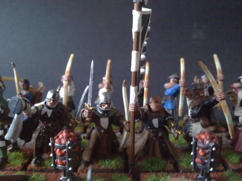 Bretonen Bogenschützen 28 mm 23072014