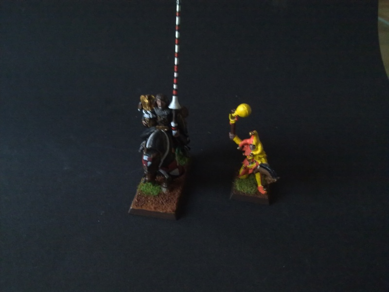 Tristan Le Troubadour und Jules Le Jongleur 28 mm 23072019