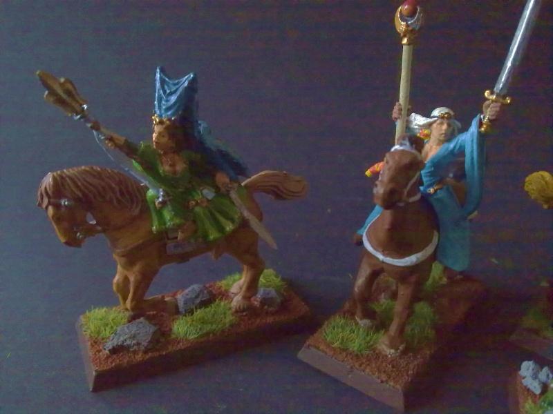 Morgiana Le Fay und zwei Bretonische Maiden 28 mm 23072034