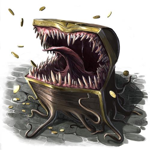 Description des lieux et monstres présents Mimics10