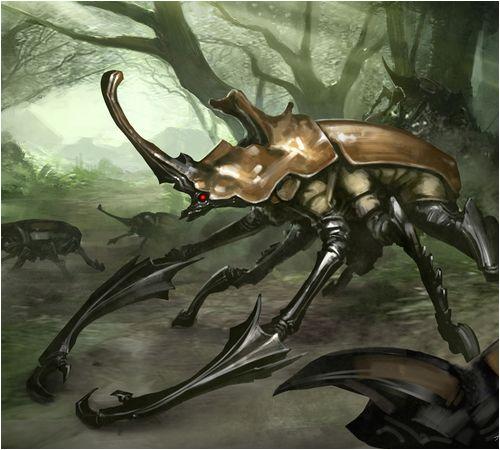 Description des Lieux et monstres présents Scarab11