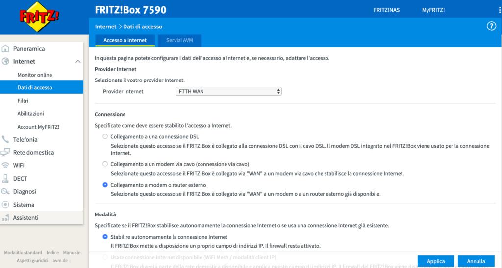 Tim FTTH 1000/100 + FritzBox (senza Tim HUB) Screen11