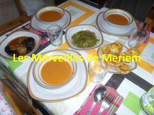 Nos tables du f'tour * Les dîners ramadanèsques* - Page 9 Table_25